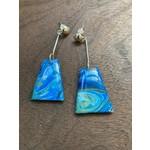 Hannah Wilson Hannah Eli Art | Complementary drop earrings