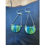 Hannah Wilson Hannah Eli Art | Tie dye scoop earrings