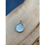 Everyday Artifacts Everyday Artifacts | Joy is in the Journey 12mm SS Bezel Pendant