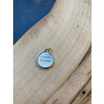 Everyday Artifacts Everyday Artifacts   Sister Friend 12mm SS Bezel Pendant