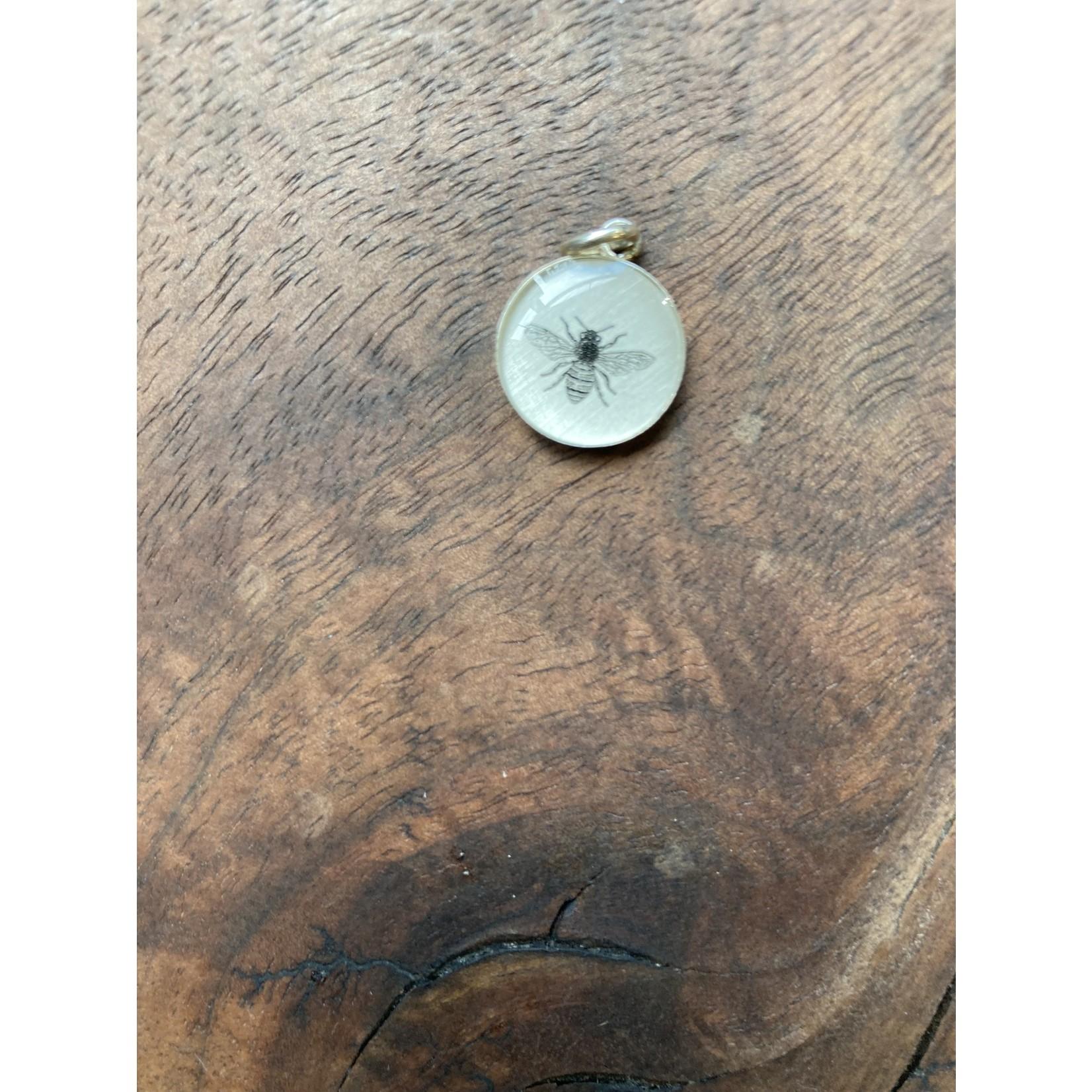Everyday Artifacts Everyday Artifacts | Bee 12mm SS Bezel Pendant