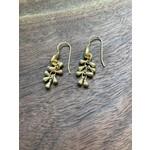 Maureen Oehrle Maureen Oehrle   E21 Matte Gold Short Dangle Drop Earrings