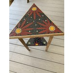 Debbie Constantin Constantin Mosaic Art | Antique Triangle Table