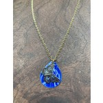 Colleen Hirsh Colleen Hirsh #96 Blue butterfly necklace