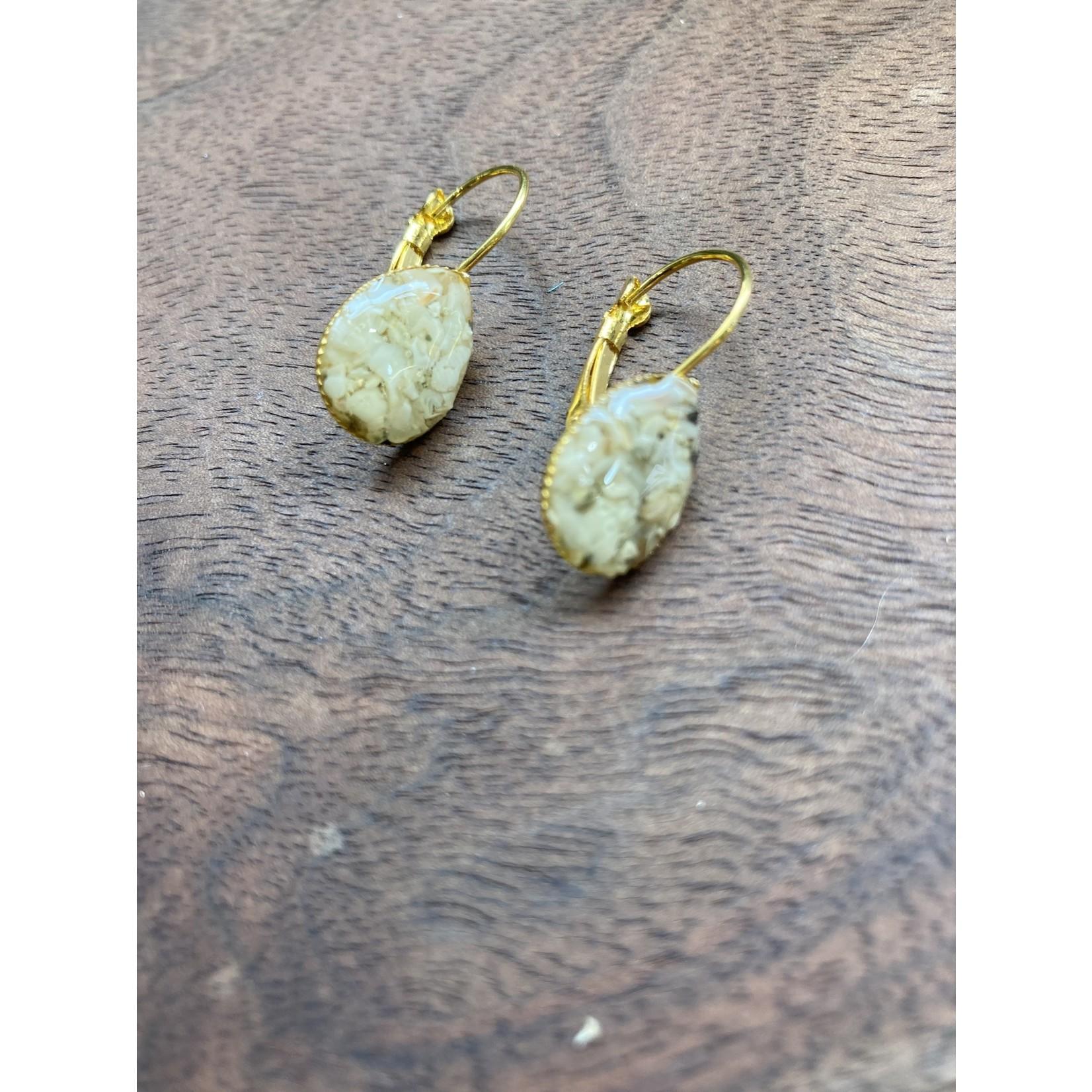 Colleen Hirsh Colleen Hirsh #106 gold tear drop sanibel earrings