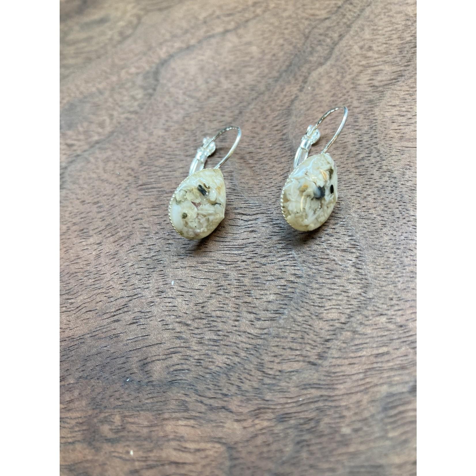 Colleen Hirsh Colleen Hirsh #107 silver tear drop sanibel earrings