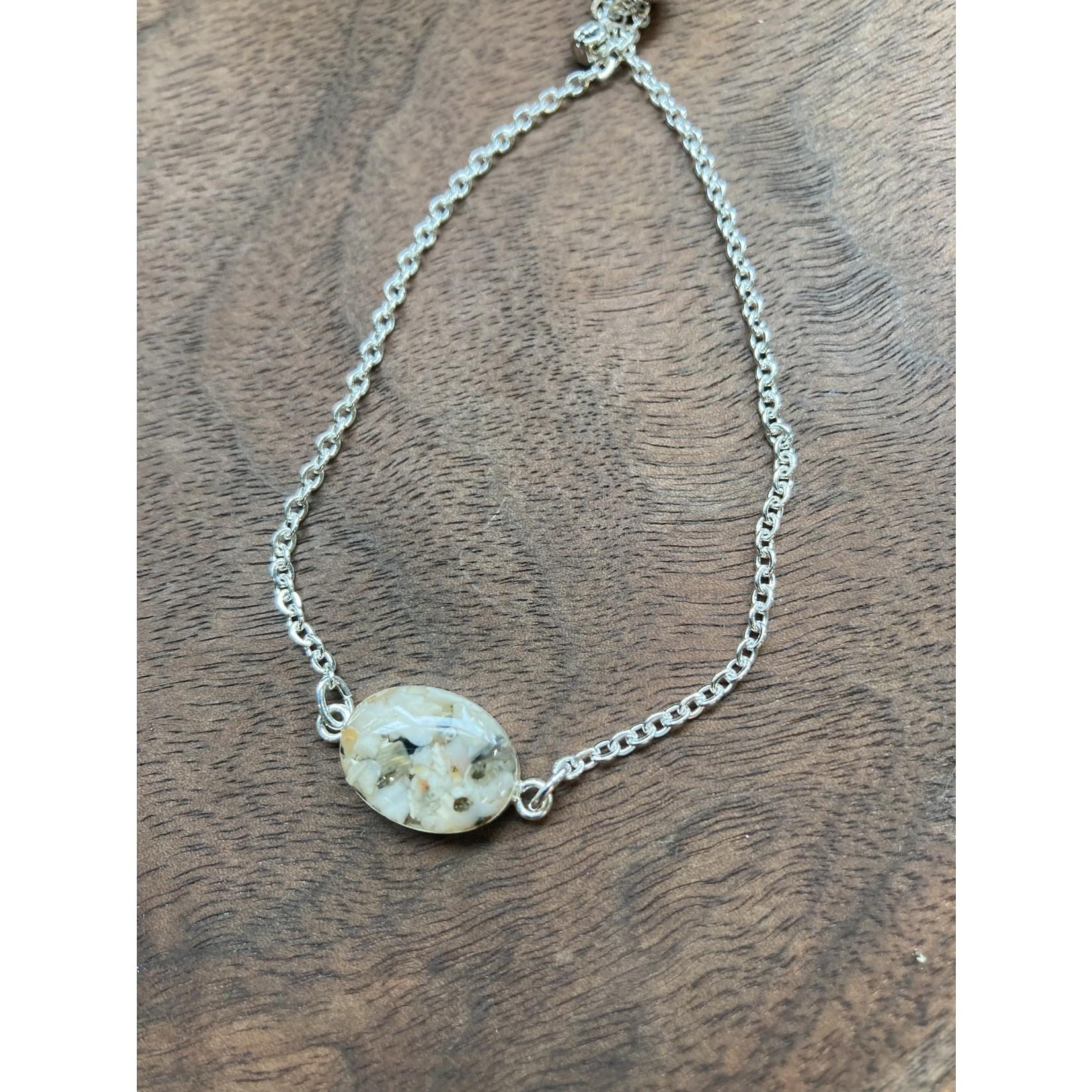 Colleen Hirsh Colleen Hirsh #115 SS sanibel oval bracelet