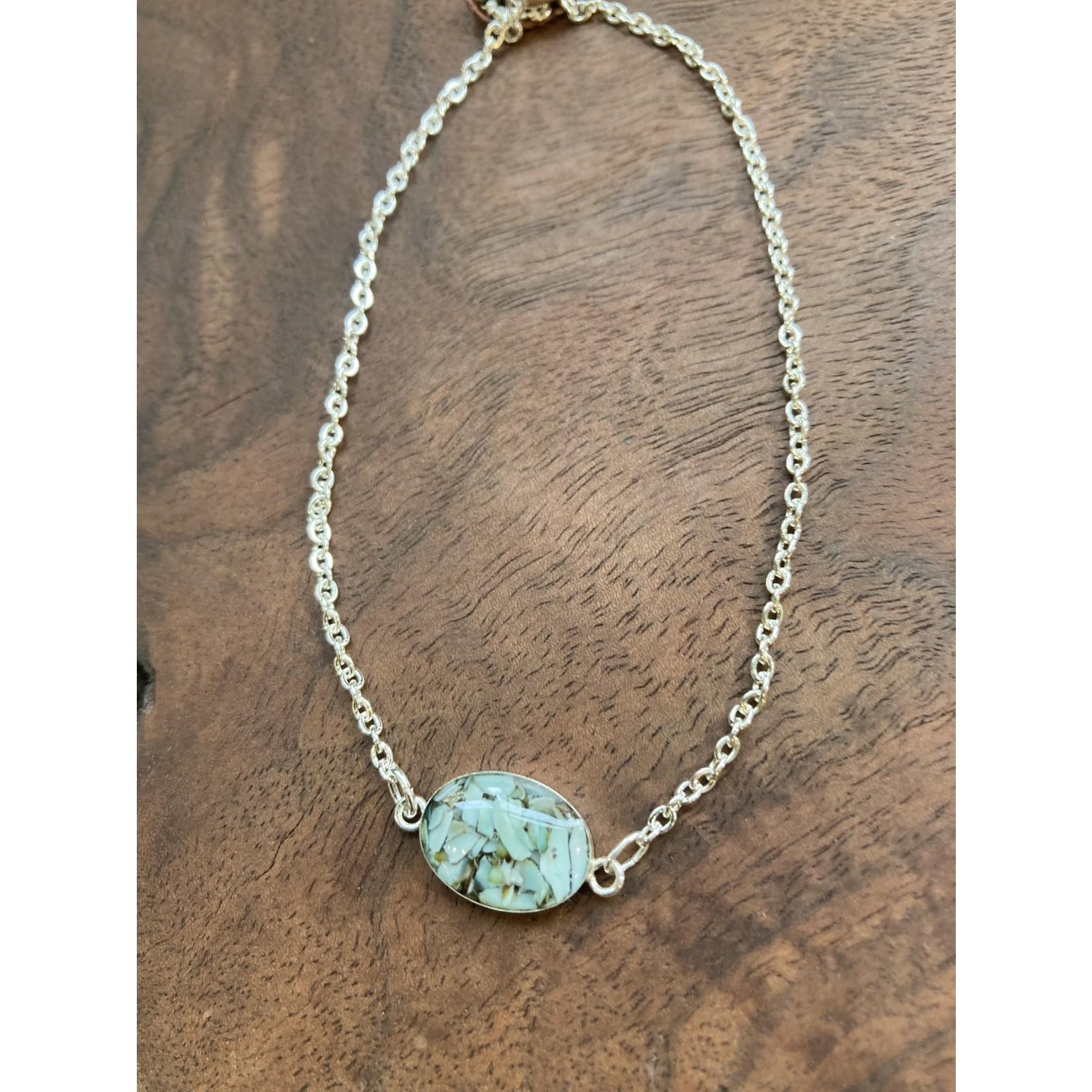 Colleen Hirsh Colleen Hirsh #117 SS limpett oval bracelet