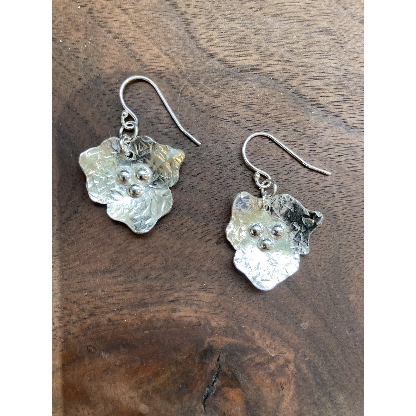 Jeanne Shuff Jeanne Marie Jewelry | #3 SS Flower Earrings