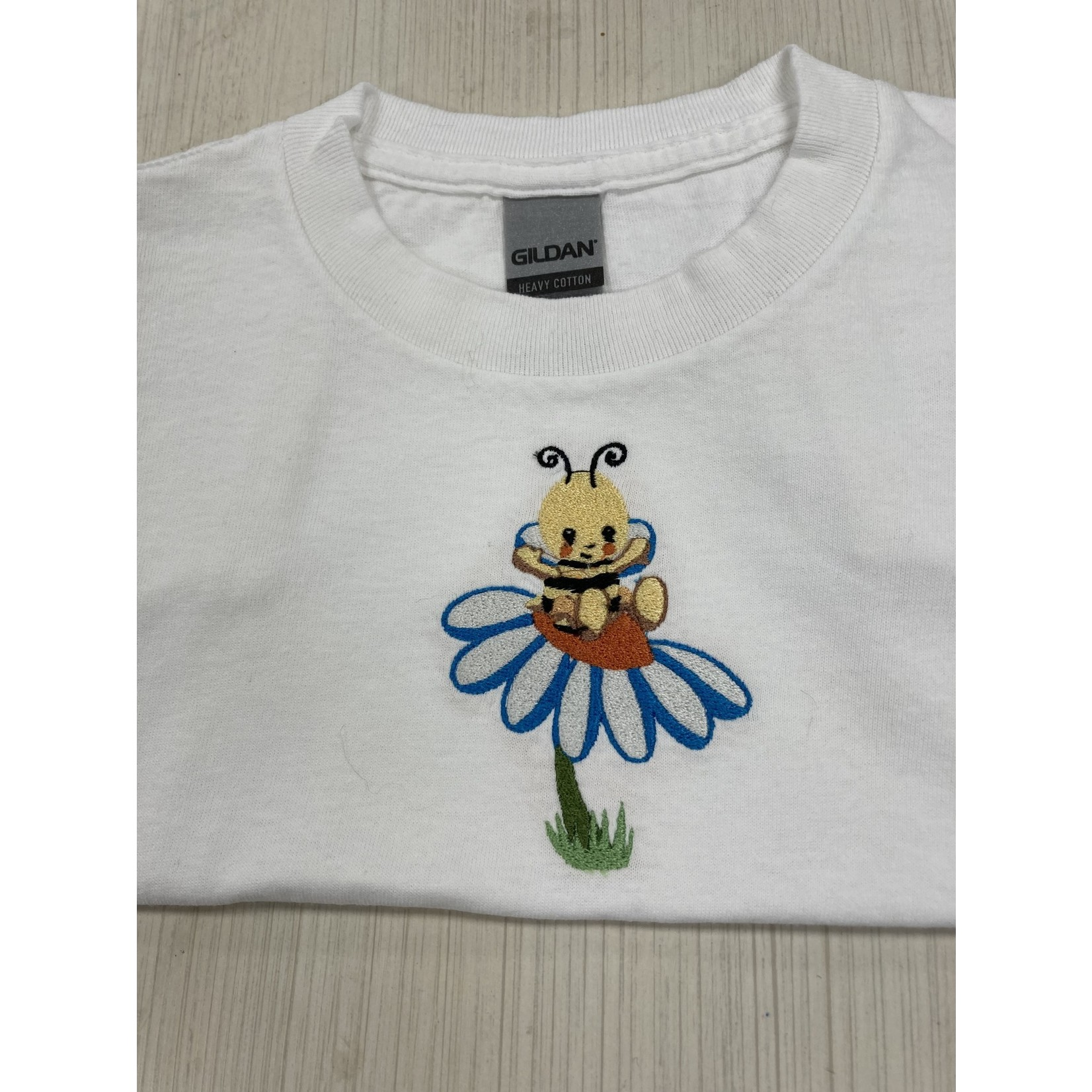 Handmade by Carol Handmade by Carol | Bee on Daisy Tee Shirt 3T