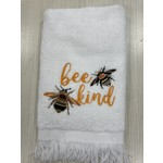 Carol Tarasi Handmade by Carol  Bee Kind Fingertip Towel