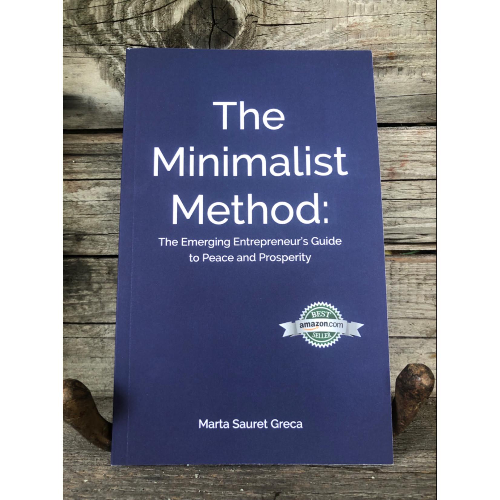 Marta Sauret Greca The Minimalist Method: Book written by Marta Sauret Greca