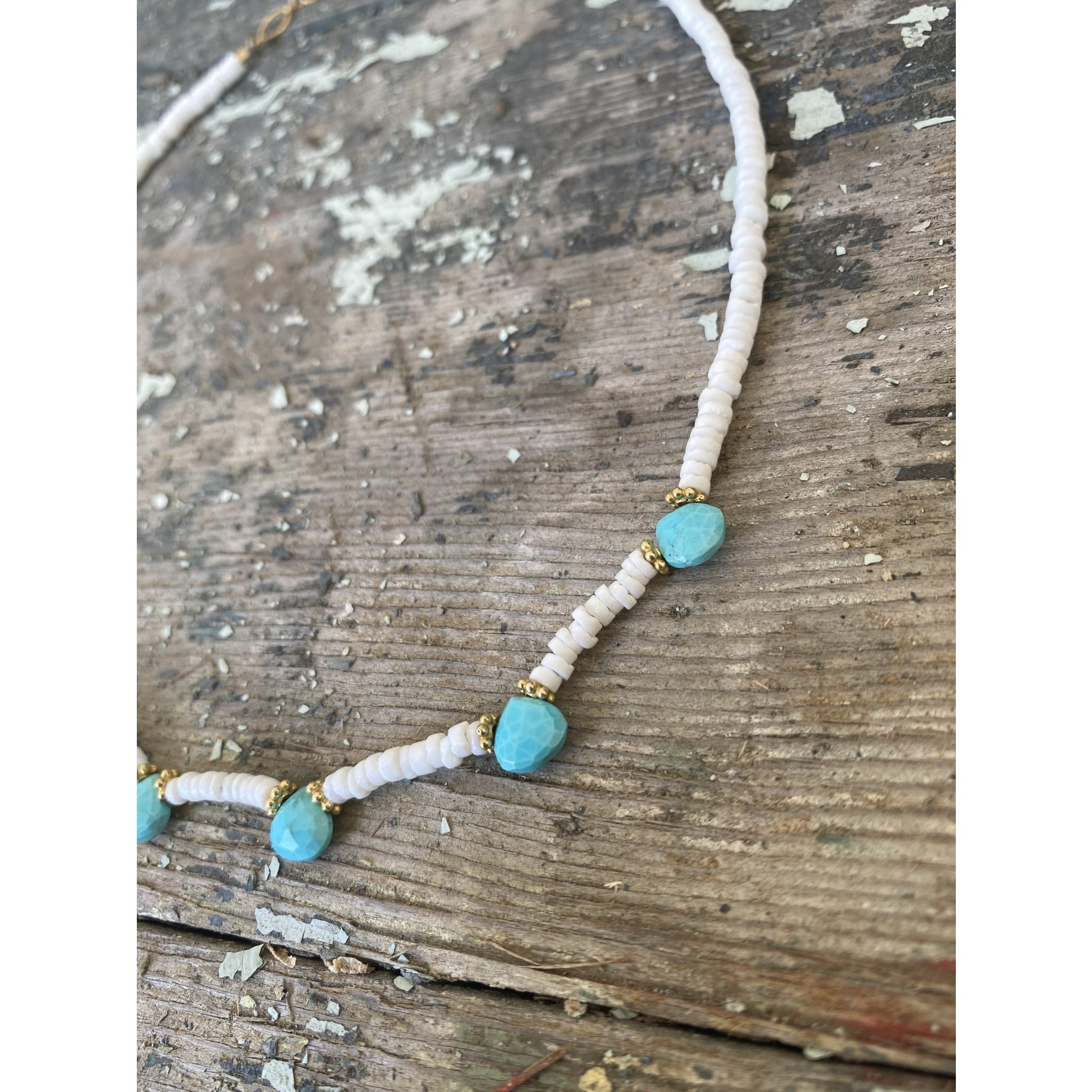 So Me So Me Designs| Take me to the Beach Shell and Turquoise