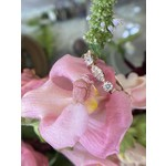 GBC 14k Rose Gold Diamond Cluster Ring