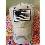 S & J Decor S & J Decor   Pittsburgh Trucker Hat - beige flag