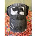 S & J Decor S & J Decor   Pittsburgh Trucker Hat - black flag