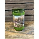 Susan Cowher Candles Uncorked PGH - Green Glass/ Shiraz
