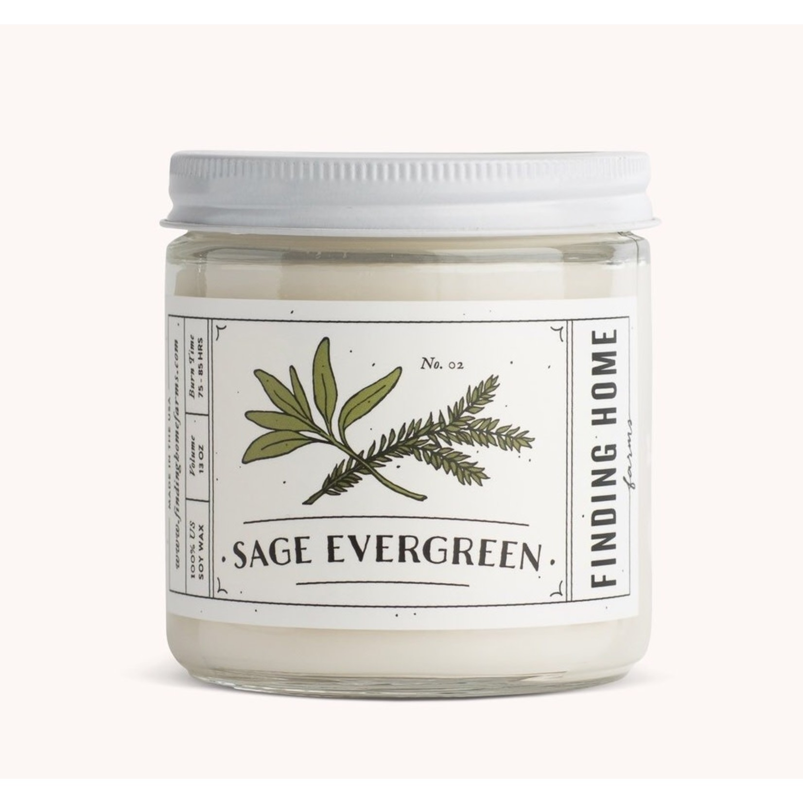 Finding Home Farms Finding home farms l Sage evergreen Soy 13oz. Candle
