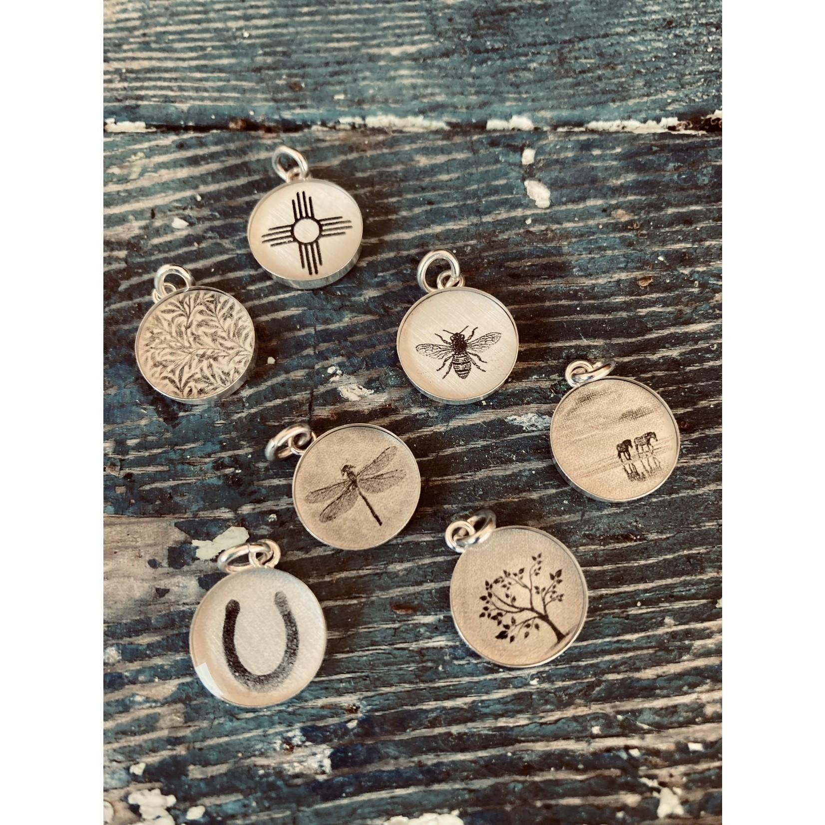 Everyday Artifacts Everyday Artifacts | Horseshoe 12mm SS Bezel Pendant