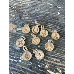 Everyday Artifacts Everyday Artifacts   Peace Symbol 8mm SS Bezel Pendant