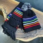 Karen Mangis Karen Mangis | Black Hat & Scarf