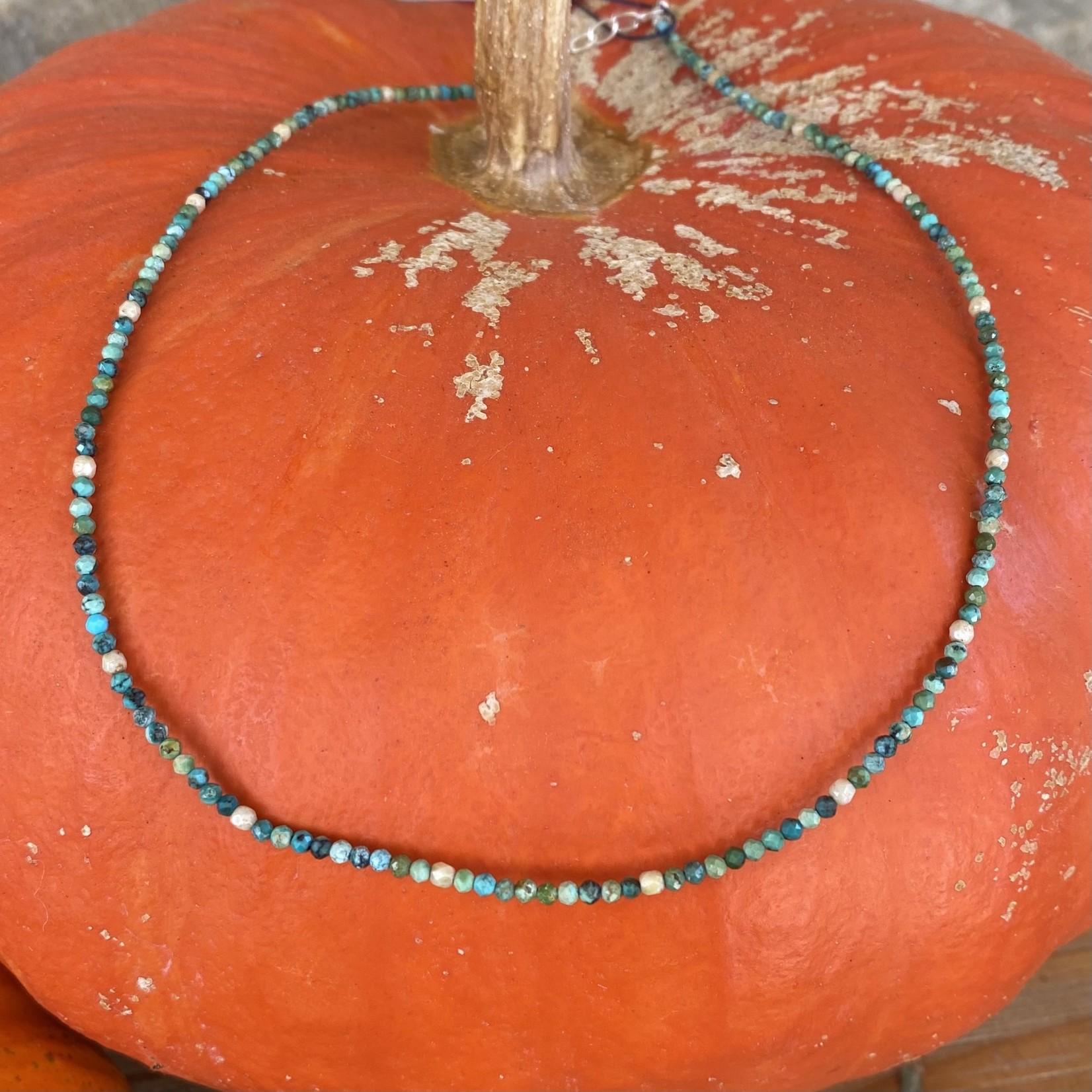 Maureen Oehrle Maureen Oehrle | N41 Assorted Turquoise & Ivory Polished Crystal