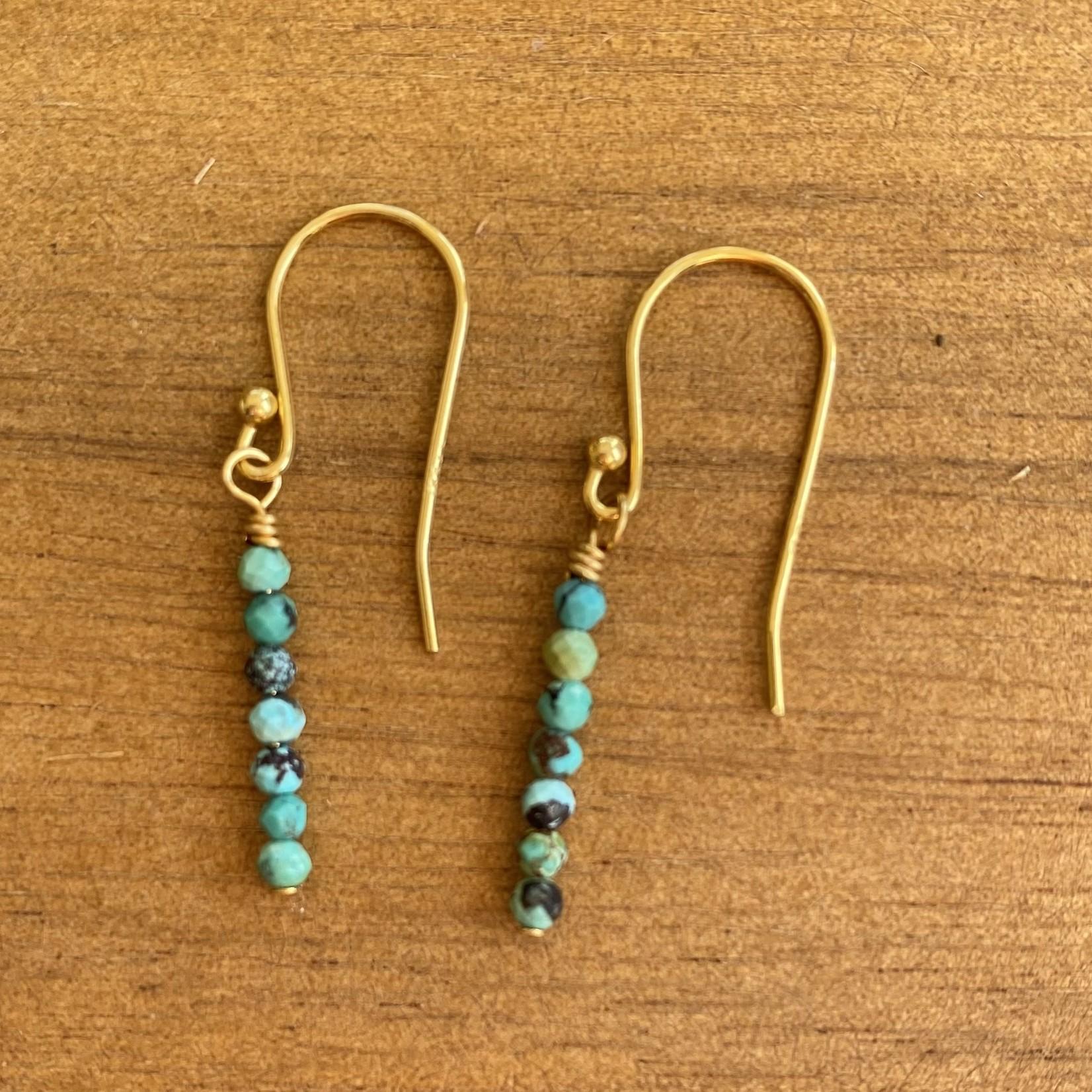 Maureen Oehrle Maureen Oehrle   E24 Turquoise Straight - 7 Stones