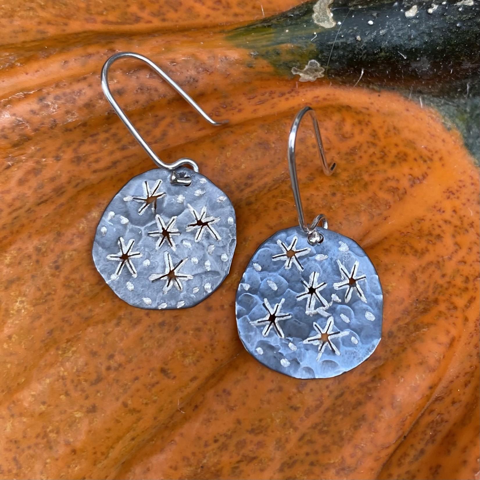 Silverheart Silverheart   E346 Guillermo Arregui Sterling small Starry Night earrings