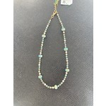 Colleen Hirsh Colleen Hirsh #133 Fire Polished Rondells necklace