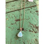 Colleen Hirsh Colleen Hirsh #131 Sterling Silver Larimar Stone  necklace