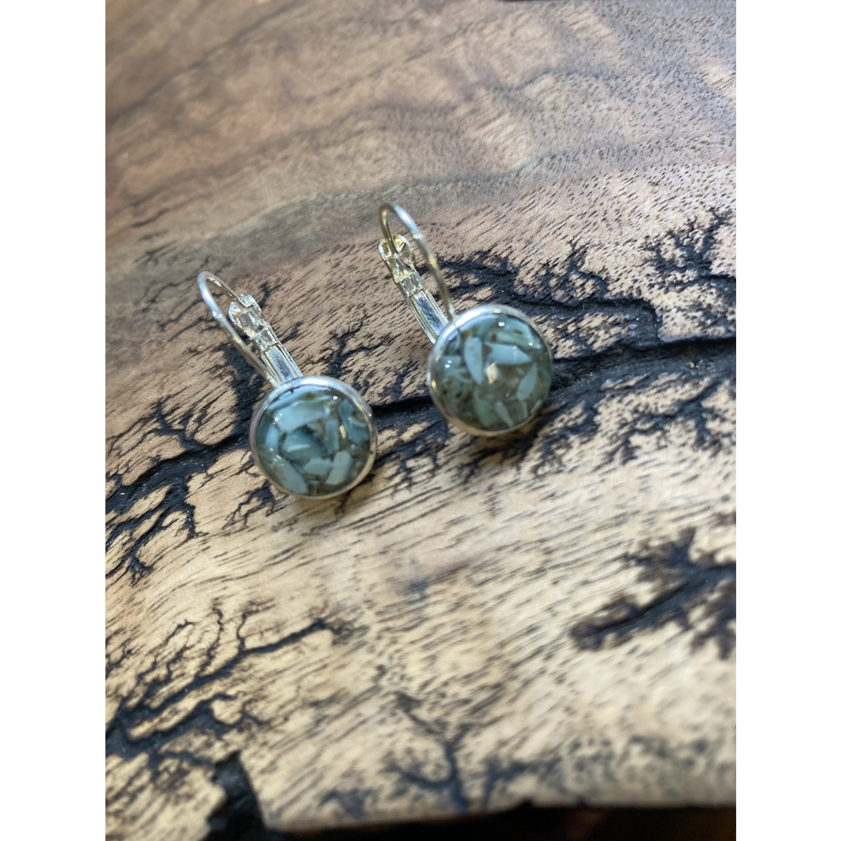 Colleen Hirsh Colleen Hirsh #126 Round Silver Limpet Shell  earrings