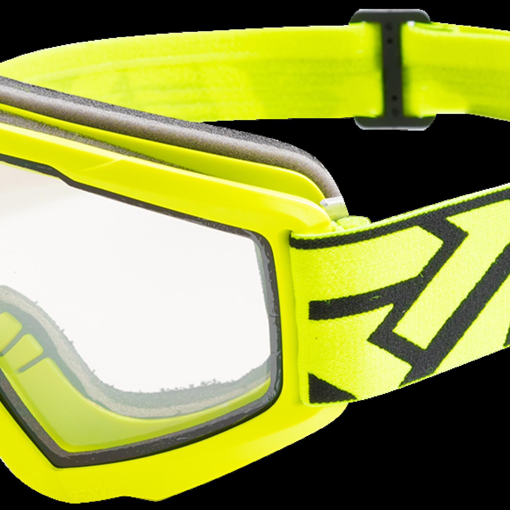 FXR Squadron Goggles - BLK/HI VIS - OS