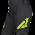 FXR YTH Clutch Pant - BLK/LIME - 10