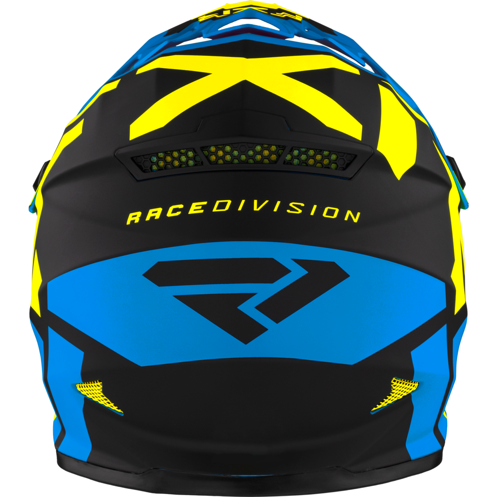 FXR Youth Legion Helmet - Blue/HiVis - L