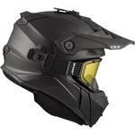 CKX Helm Titan Solid Black Mat Helmet