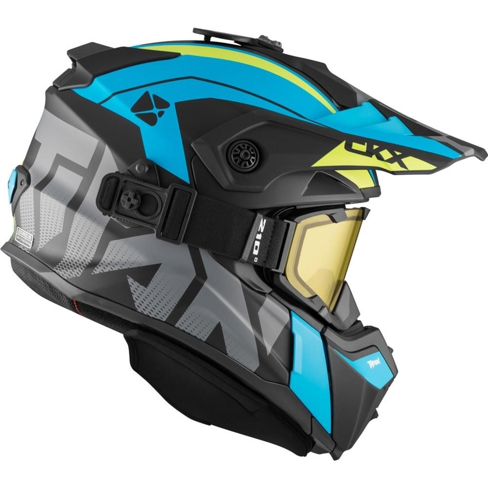 CKX Helm Titan Altitude Solid Green/Blue Mat