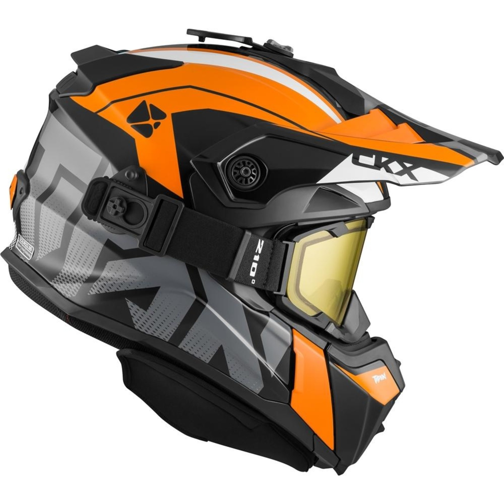 CKX Helm Titan Altitude Orange/White