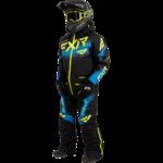 FXR FXR Youth Boost Monosuit Black/Blue/Hi-Vis