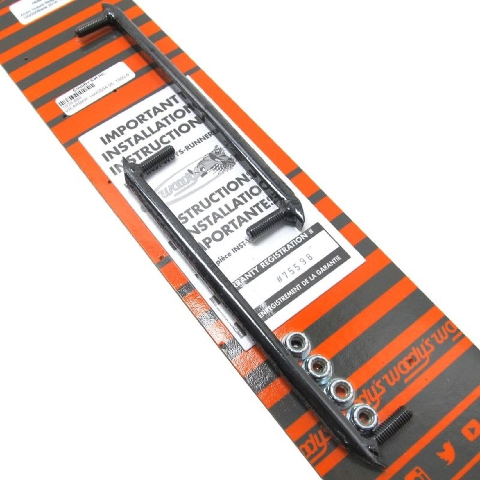 Wearbar - hardweld '18 200 (ZR 120/200)