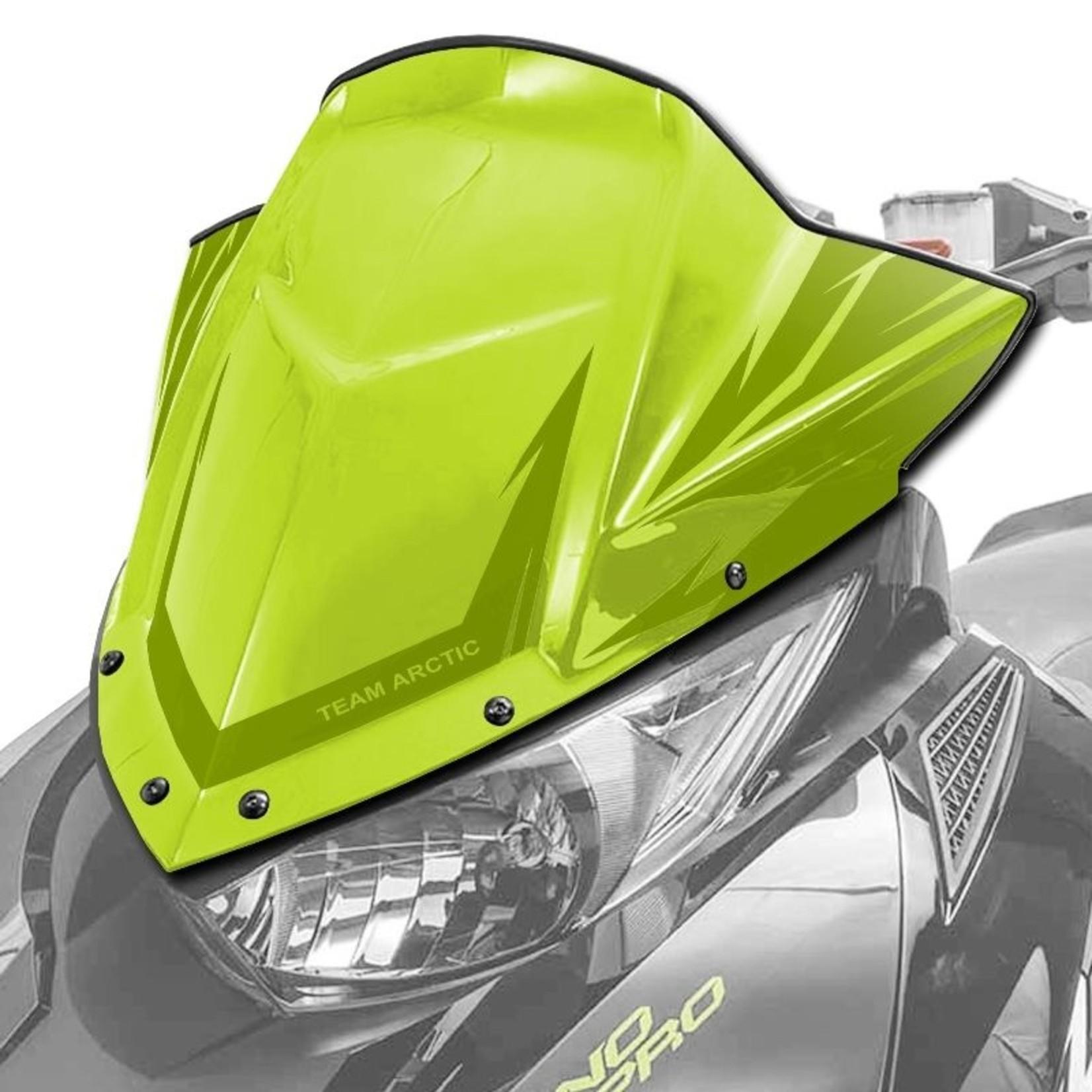 Windscreen, Mid - Green