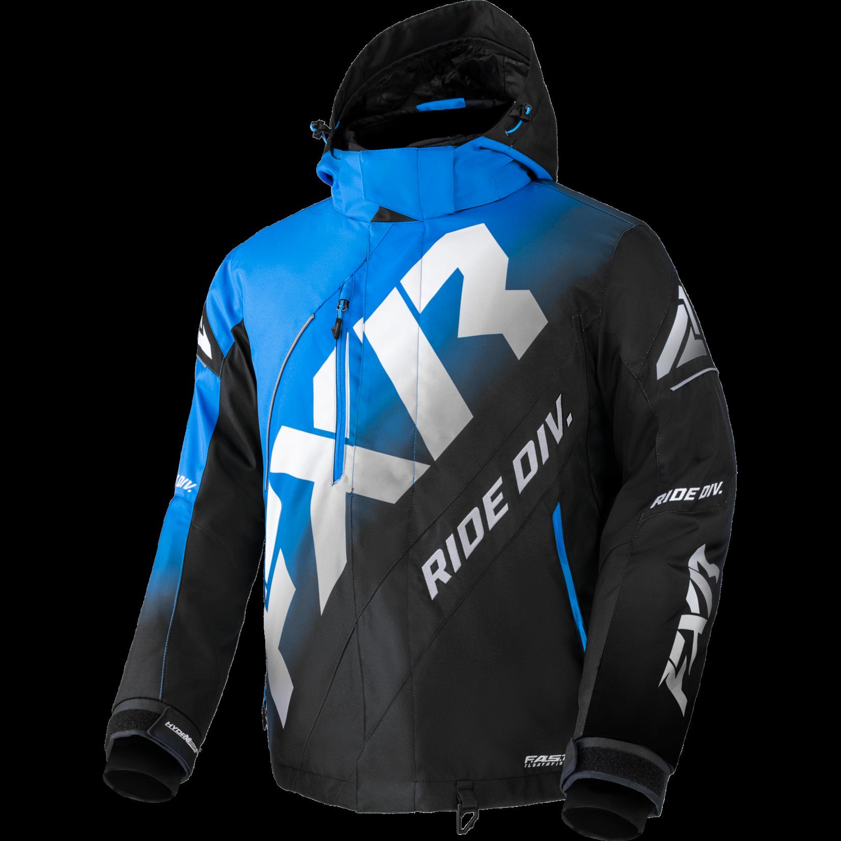 FXR FXR Men's CX Jacket - Black Fade/Light Grey