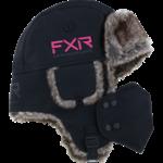 FXR FXR Trapper Hat - Black/Electric Pink