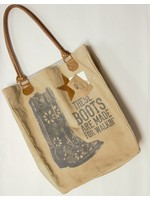 These Boots Market Bag