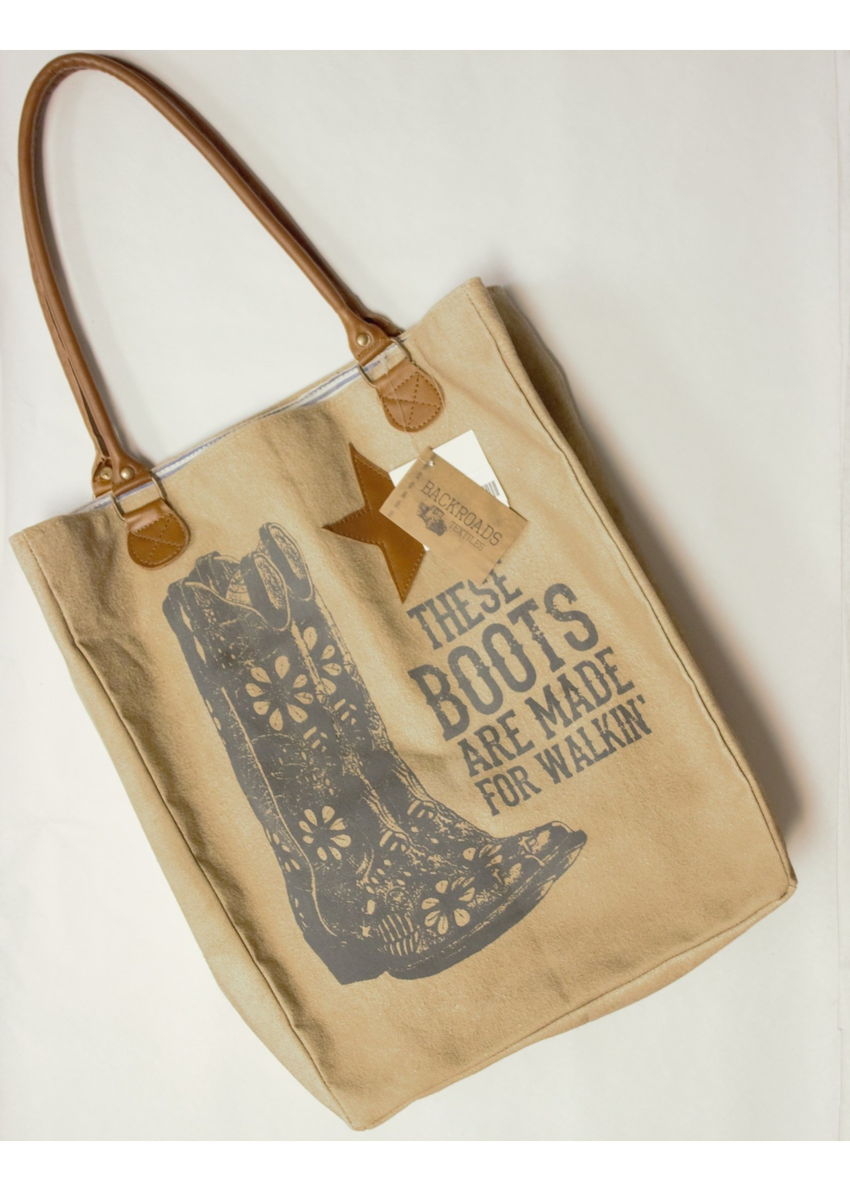 These Boots are made for Walking Market Bag