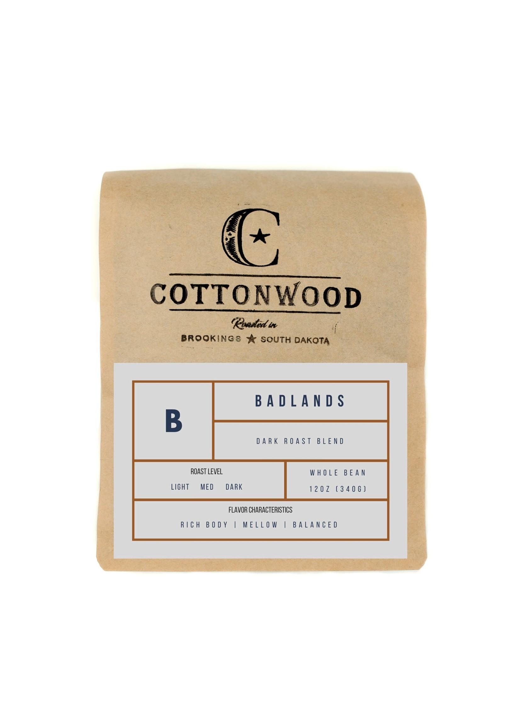 Cottonwood Coffee Cottonwood Whole Bean- 12oz