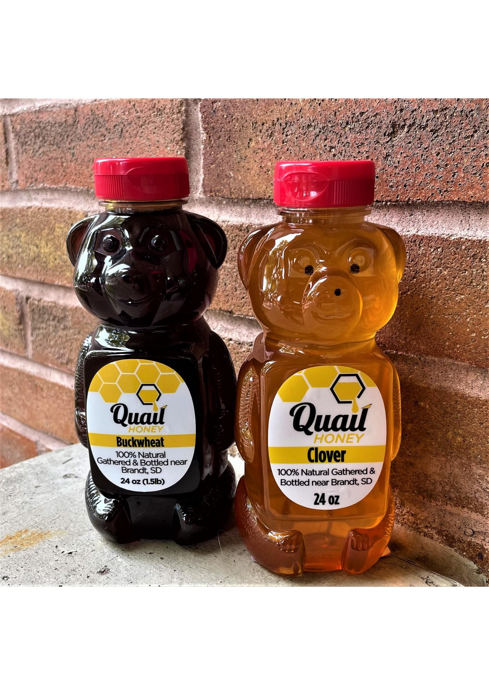 Quail Honey Quail Honey Bear 24 oz