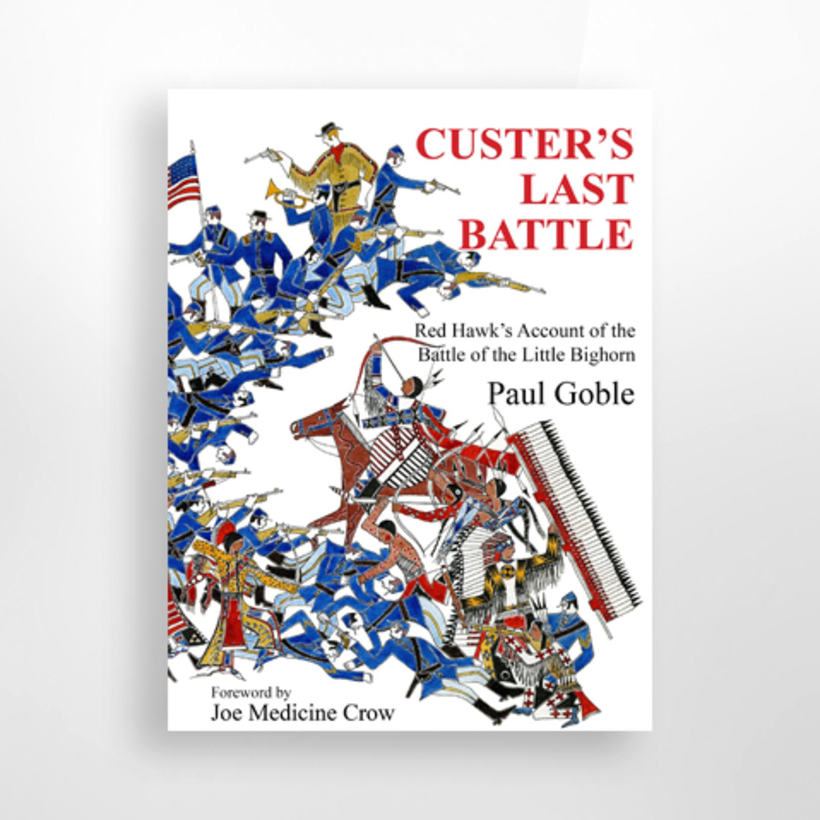 Dakota West Books Custer's Last Battle