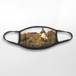 Dunn Merchandise The Prairie Is My Garden Face Mask
