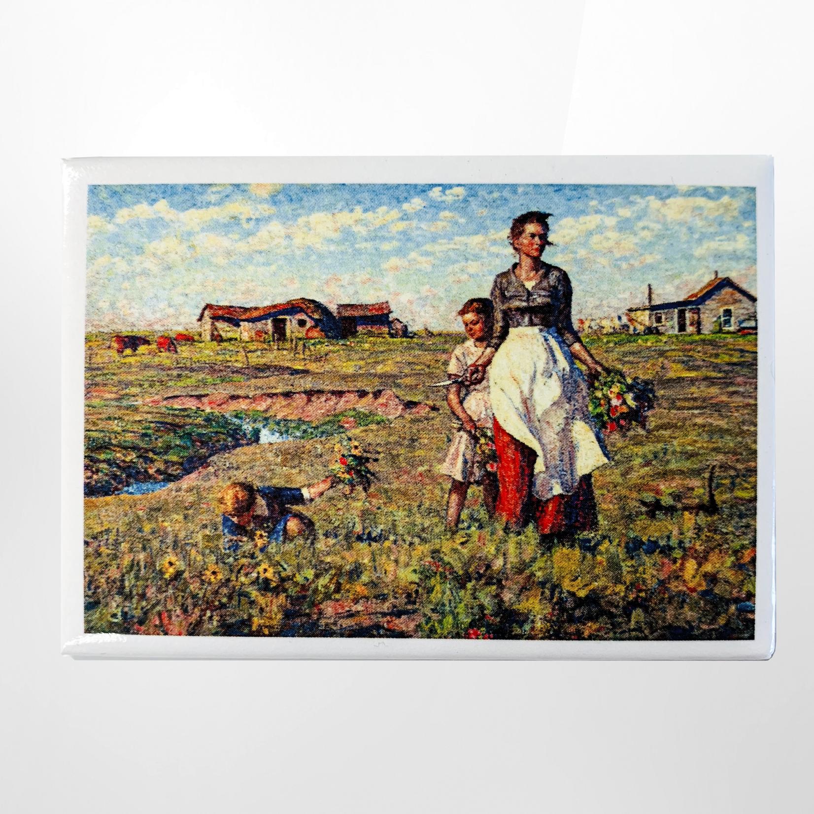 Dunn Merchandise The Prairie Is My Garden Magnet