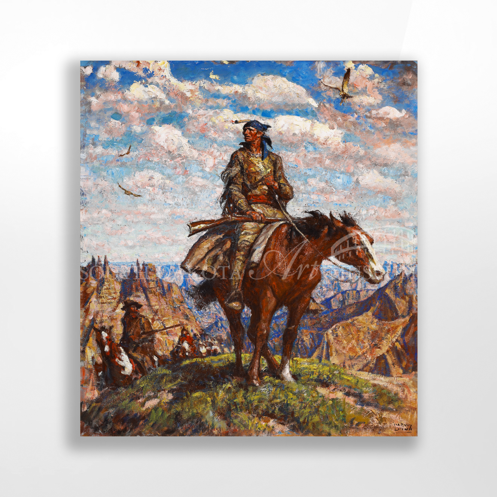 Dunn Reproductions Jedediah Smith in the Badlands